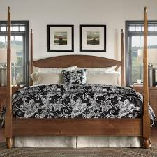 House And Home Furniture Meeting House King Pencil Post Bed By Kincaid Furniture Dream