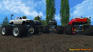 grave digger monster truck games pastana gravedigger monster trucks v1 0 for spin tires 2014