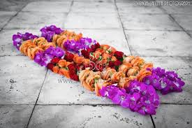 flower garlands for indian weddings suhaag garden indian wedding decorator florida wedding decorator