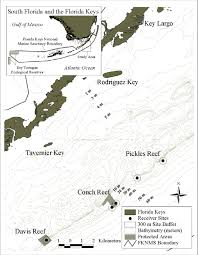 Map Of Northern Florida by Map Of Study Area In Northern Florida Keys National Marine