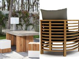 Wooden Furniture Design 2017 Our Most Adventurous Outdoor Living Furniture Collections