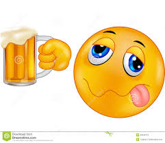 beer cheers cartoon cartoon smiley emoticon holding beer stock vector image 46948479