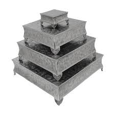 wedding cake stands giftbay 751 6 22s s 4 wedding cake stand square 22 18 14 6
