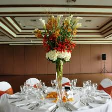 curly willow centerpieces white and orange centerpiece with curly willow tfm cp133 tfm