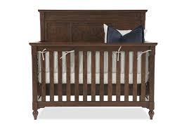 Are Convertible Cribs Worth It Paneled Convertible Crib In Brown Mathis Brothers Furniture
