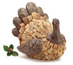 thanksgiving turkey figurine adorable home