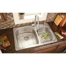 Kitchen Sink Faucet Installation by Kitchen Sink Installation Glacier Bay Top Mount Stainless Steel
