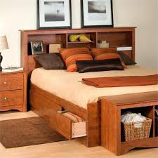full storage bed with bookcase headboard u2013 robys co