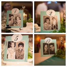table numbers with pictures wedding table numbers romantic decoration