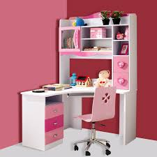 Pink Corner Desk Computer Desk For With Hutch And Pink Wall Colors Also Swivel