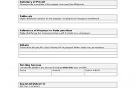 request for funding proposal template and proposal template pdf