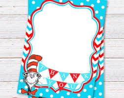 sign dr seuss baby shower printable sign cat