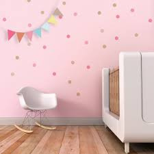 confetti wall decal dots wall decal pink circles stickers kids zoom