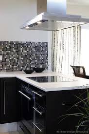 black kitchen backsplash pictures of kitchens modern black kitchen cabinets