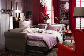 bed in the living room picturesque a bed living room perfectly blended for modern life at