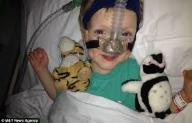 best christmas gift ever 9 year old boy donates bone marrow to