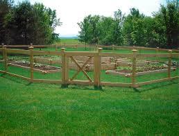 Outdoor Fence Decor Ideas by Wood Garden Fencing Ideas Plan U2014 Jbeedesigns Outdoor Garden