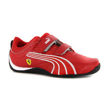 ferrari shoes puma boys drift cat 4 l ferrari red strap trainers boys u0027 shoes