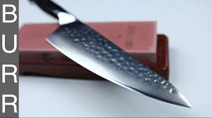 whetstone for kitchen knives how to polishing chef knife on chosera 3000 whetstone