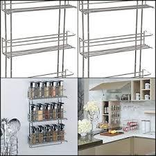 3 tier kitchen cabinet organizer kitchen spice rack mount wall cabinet shelf organizer storage 3 tier