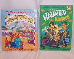 berenstain bears books berenstain bears haunted hayride and big park books