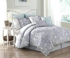 Twin White Comforter Set White Comforter Sets Full Dawson Blue And White 8piece Reversible