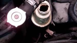 2001 dodge dakota 4 7l power steering fluid flush youtube