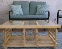 Lobster Trap Coffee Table by The Big Red Wooden Lobster Trap Coffee Table Made