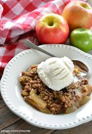 easy apple crumble kitchen concoctions
