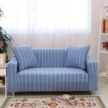Striped Slipcovers For Sofas Light Blue Sofa Promotion Shop For Promotional Light Blue Sofa On