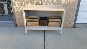 pick up only vintage shabby chic storage entry way media center