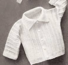 baby boy sweater vintage knitting pattern to baby boy set hat sweater booties