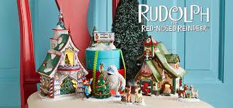 Rudolph The Red Nosed Reindeer Christmas Decorations Department56 Canada Villages North Pole Village Rudolph The