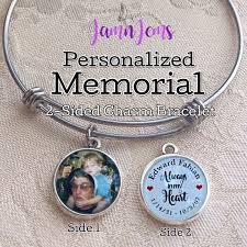 personalized remembrance jewelry personalized memorial bracelet remembrance jewelry sympathy