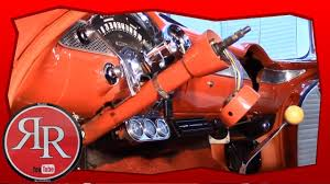 55 chevy steering column assembly youtube