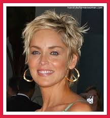 google short shaggy style hair cut sharon stone hairstyles pictures mom pinterest sharon stone