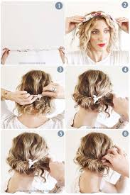 step by step easy updos for thin hair two ways to tie a headscarf