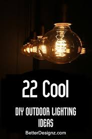 Diy Backyard Lighting Ideas Diy Patio Lighting Ideas