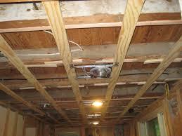 how level ceiling joist for drywall