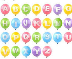 balloon letters personalised letter balloons by letteroom notonthehighstreet