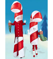 stilt walkers australia christmas entertainment giant candy canes