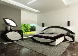 Modern King Size Bed Frame Nice Modern Design Modern King Size Bed With Grey Ceramics Floor