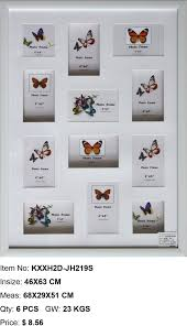 best selling 3d photo frame ps photo frame multi aperture photo