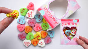candy hearts how to make squishy conversation candy hearts packaging diy