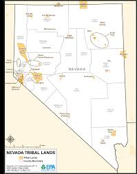 Fort Carson Map Nevada Tribal Lands Maps Air Quality Analysis Pacific