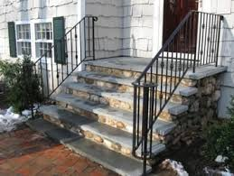 home depot granite steps design home view on homedec railings