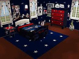 plain fine patriots bedroom mod the sims new england patriots set
