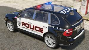 Custom Porsche Cayenne - porsche cayenne need for speed pursuit police template
