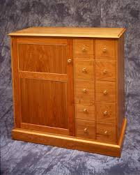 Cd Cabinet With Drawers Prairie Woodworks Inc