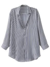 striped blouse pullover oversized striped blouse stripe blouses l zaful